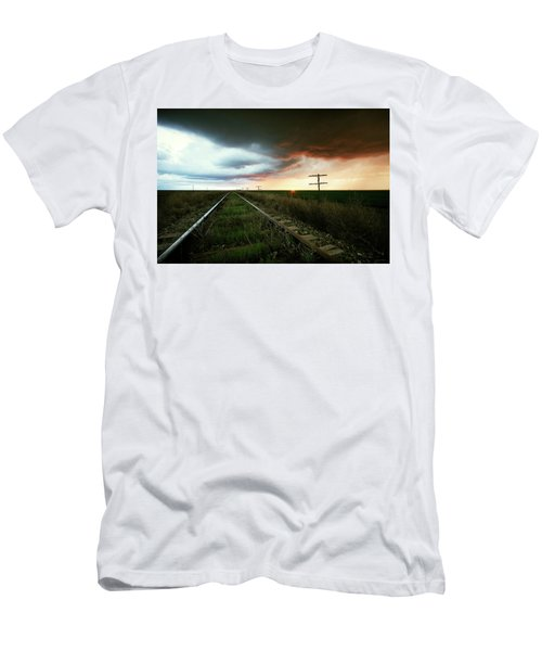 End Of A Stormy Day Men's T-Shirt (Athletic Fit)