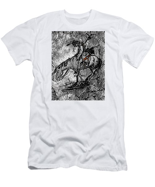 End Of The Trail 3 Men's T-Shirt (Slim Fit) by Ayasha Loya