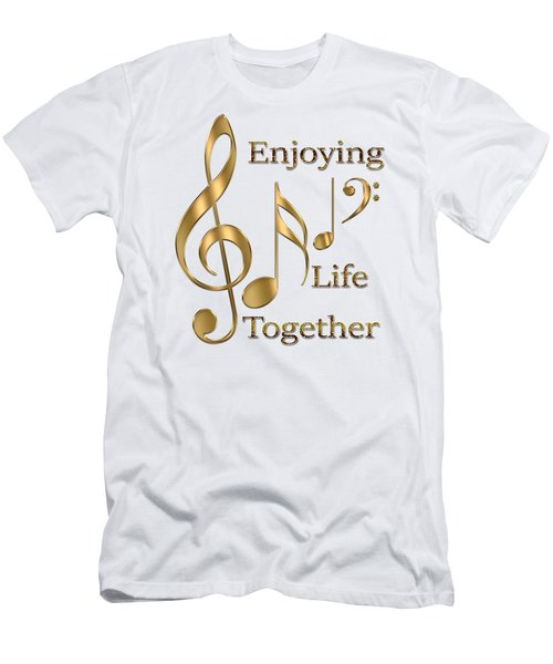 Enjoying Life Together Men's T-Shirt (Athletic Fit)