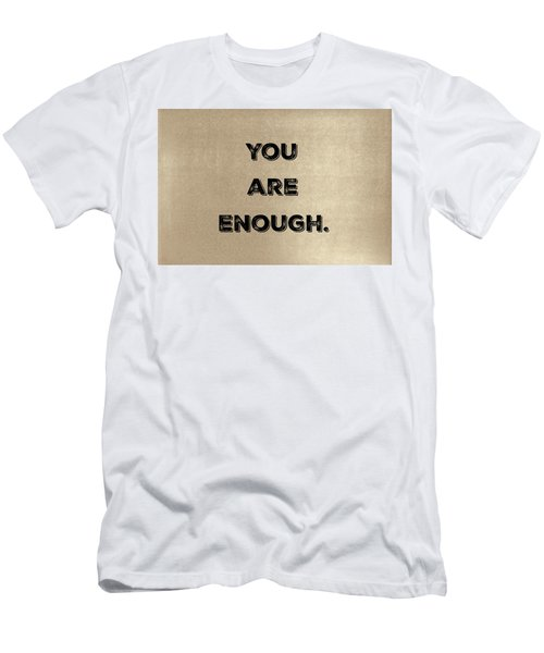 Enough #1 Men's T-Shirt (Athletic Fit)