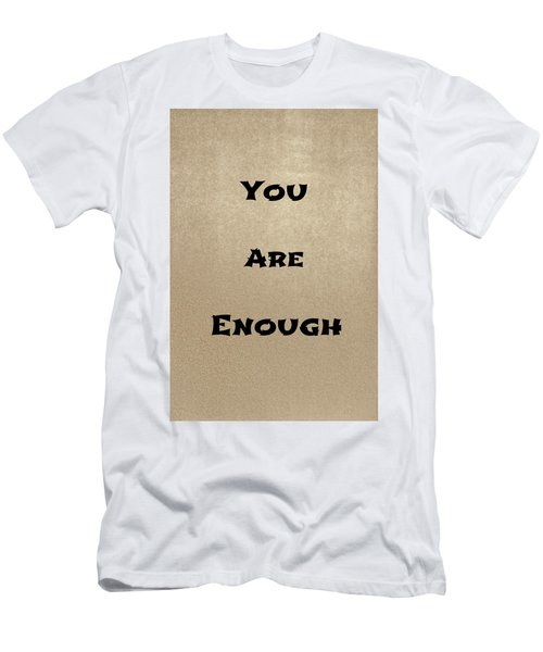 Enough #2 Men's T-Shirt (Athletic Fit)