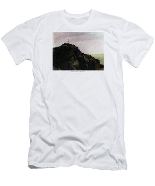 Men's T-Shirt (Athletic Fit) featuring the photograph Enthusiasm Poster by Wayne King
