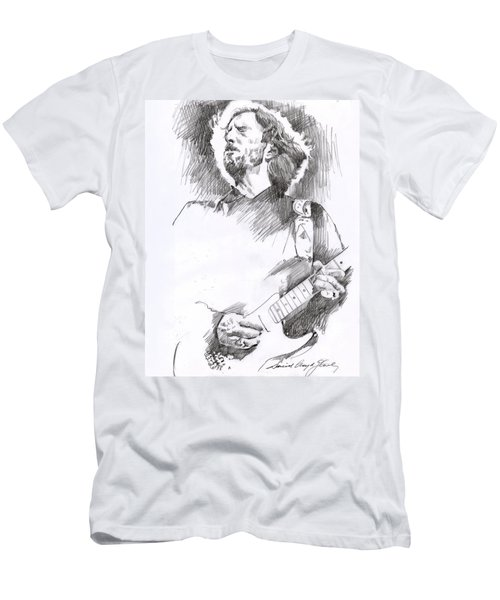 Eric Clapton Sustains Men's T-Shirt (Athletic Fit)