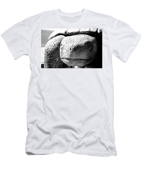 Men's T-Shirt (Athletic Fit) featuring the photograph Escape From The Galapagos by AJ Schibig