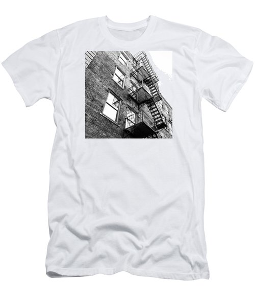 Men's T-Shirt (Slim Fit) featuring the photograph Escape by Wade Brooks