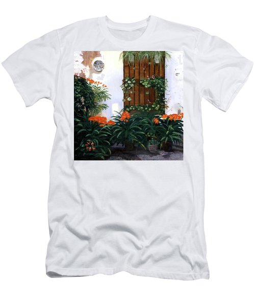 Men's T-Shirt (Slim Fit) featuring the painting Espana by Lynne Reichhart