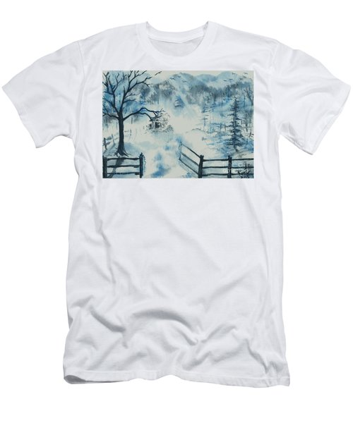 Ethereal Morning  Men's T-Shirt (Athletic Fit)