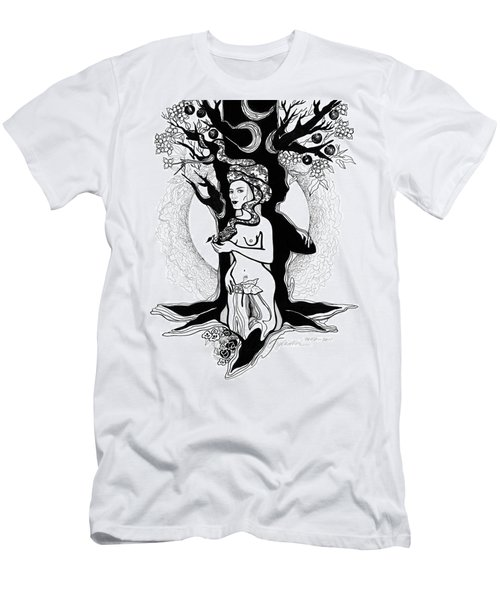 Eve Men's T-Shirt (Slim Fit) by Yelena Tylkina