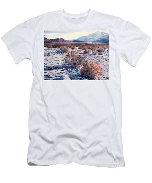 Evening In Death Valley Men's T-Shirt (Slim Fit) by Donald Maier