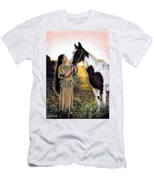 Everlasting Love A Maiden And Spot Men's T-Shirt (Athletic Fit)