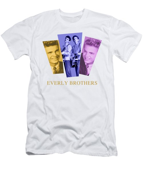 Everly Brothers Men's T-Shirt (Athletic Fit)