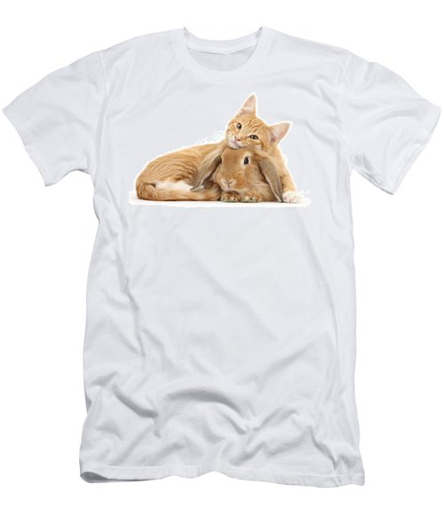 Everybody Needs A Bunny For A Pillow Men's T-Shirt (Athletic Fit)