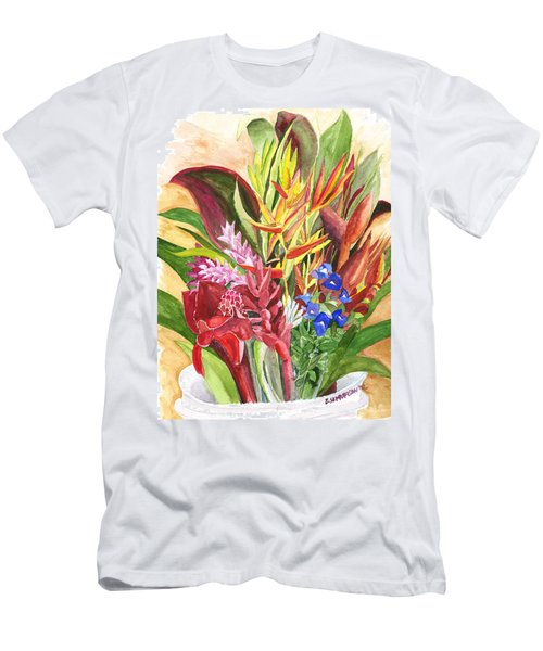 Everywhere There Were Flowers Men's T-Shirt (Athletic Fit)