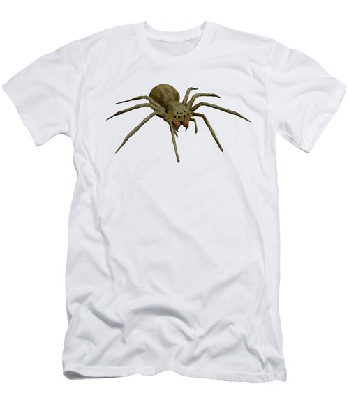Evil Spider Men's T-Shirt (Slim Fit) by Martin Capek