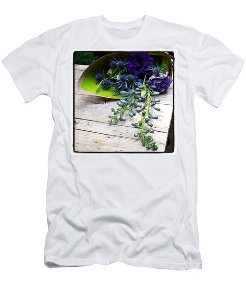 Men's T-Shirt (Athletic Fit) featuring the photograph Excellent Customer Service. #flowers by Mr Photojimsf