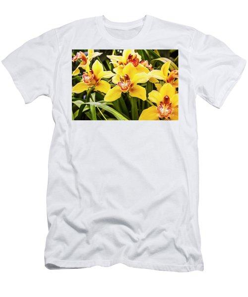 Exotic Orchids  Men's T-Shirt (Athletic Fit)