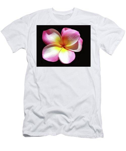 Exotic Plumeria Men's T-Shirt (Athletic Fit)