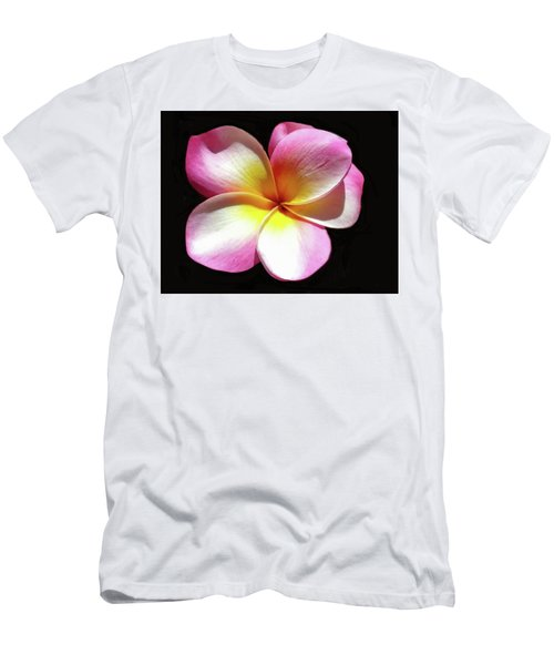 Exotic Plumeria Men's T-Shirt (Athletic Fit)
