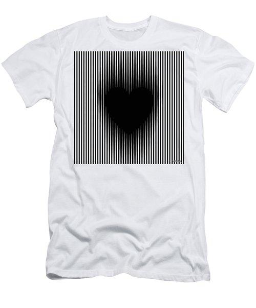 Expanding Heart Men's T-Shirt (Athletic Fit)