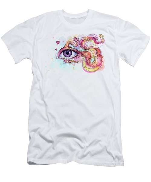 Eye Fish Surreal Betta Men's T-Shirt (Athletic Fit)