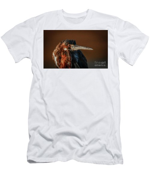 Eye To Eye With Heron Men's T-Shirt (Athletic Fit)