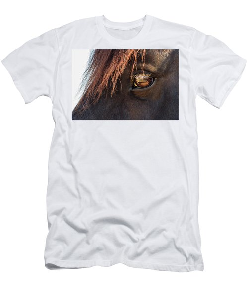 Eyeing The Reflection Men's T-Shirt (Athletic Fit)