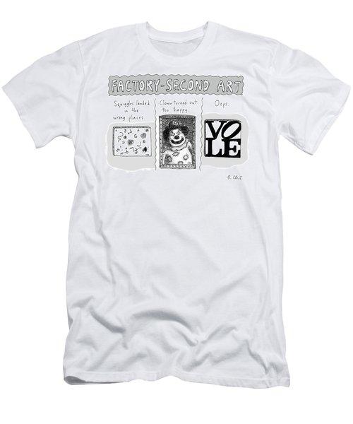 Factory Second Art Men's T-Shirt (Athletic Fit)