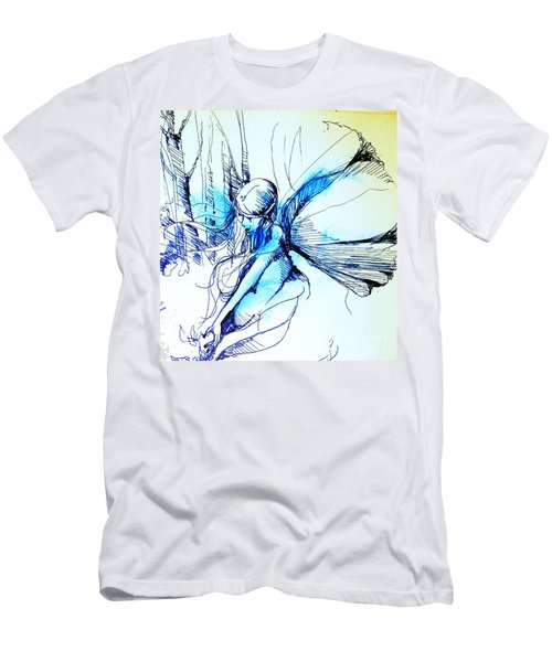 Fairy Doodles Men's T-Shirt (Athletic Fit)