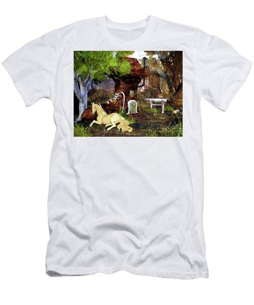 Fairy Retreat Men's T-Shirt (Athletic Fit)