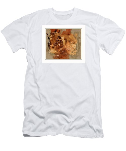 Fall Butterfly Men's T-Shirt (Slim Fit) by Karen McKenzie McAdoo