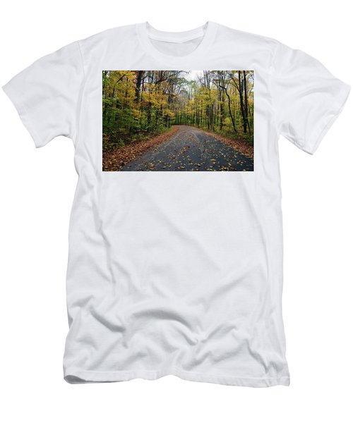 Fall Color Series 2016 Men's T-Shirt (Slim Fit) by Joanne Coyle