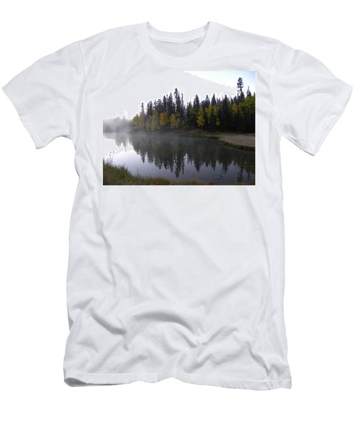 Kiddie Pond Fall Colors Divide Co Men's T-Shirt (Athletic Fit)