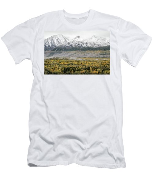 Men's T-Shirt (Athletic Fit) featuring the photograph Fall In Wrangell - St. Elias by Marla Craven