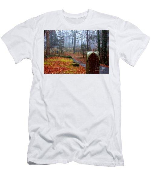 Fall Men's T-Shirt (Slim Fit) by Steven Macanka