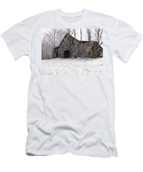 Falling Barn Men's T-Shirt (Athletic Fit)
