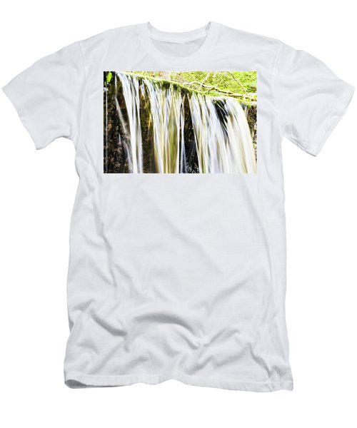 Falling Water Mirror Men's T-Shirt (Athletic Fit)