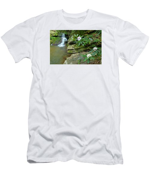 Falls On Catawba Creek Men's T-Shirt (Athletic Fit)
