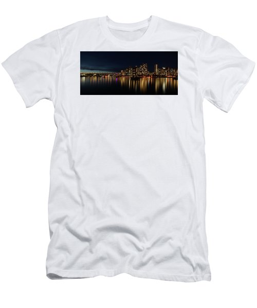 False Creek Reflections Men's T-Shirt (Athletic Fit)