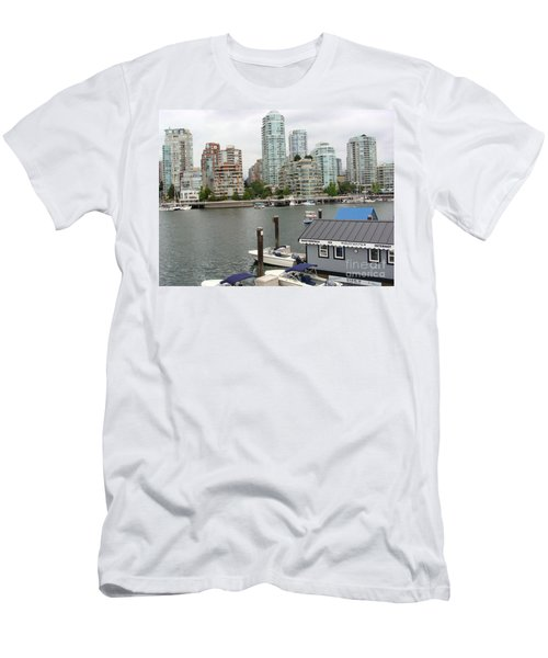 False Creek Vancouver Men's T-Shirt (Slim Fit) by Rod Jellison