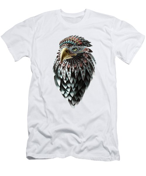 Fantasy Eagle Men's T-Shirt (Slim Fit) by Sassan Filsoof