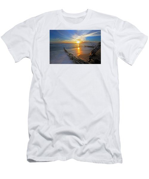 Far Out To Sea Men's T-Shirt (Slim Fit) by James Roemmling