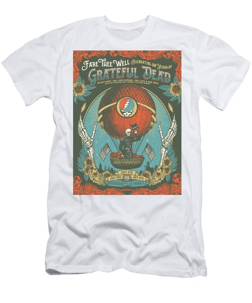 Fare Thee Well Men's T-Shirt (Slim Fit) by Gd