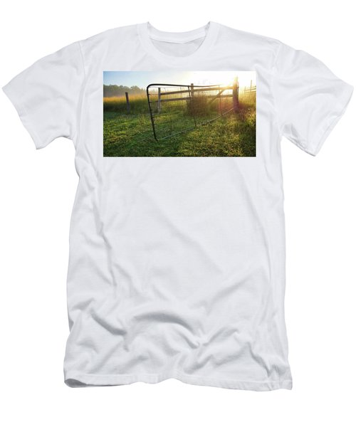Farm Gate Men's T-Shirt (Athletic Fit)