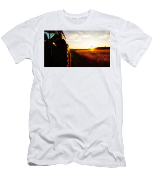 Farming Until Sunset Men's T-Shirt (Athletic Fit)