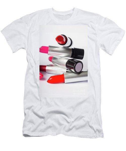 Fashion Model Lipstick Men's T-Shirt (Athletic Fit)