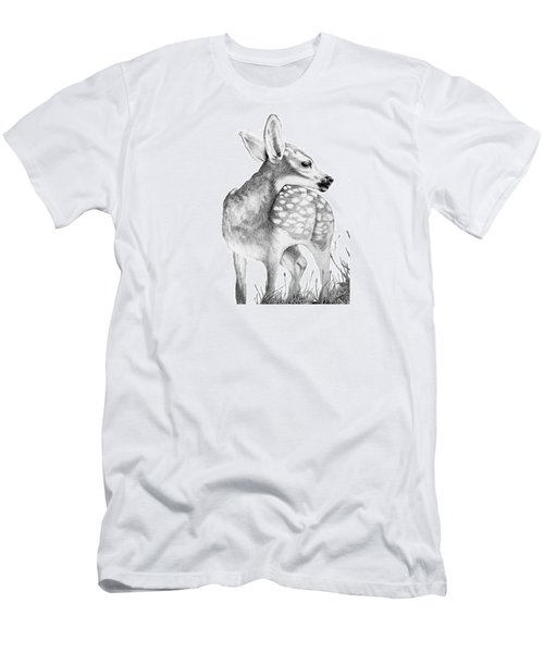 Fawn Men's T-Shirt (Slim Fit) by Lawrence Tripoli