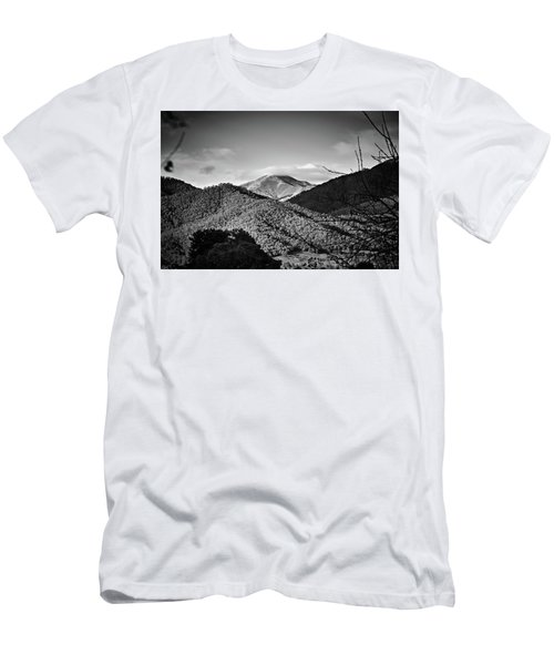Feathertop Men's T-Shirt (Slim Fit) by Mark Lucey