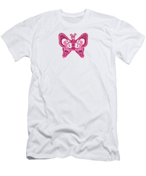 February Butterfly Men's T-Shirt (Athletic Fit)