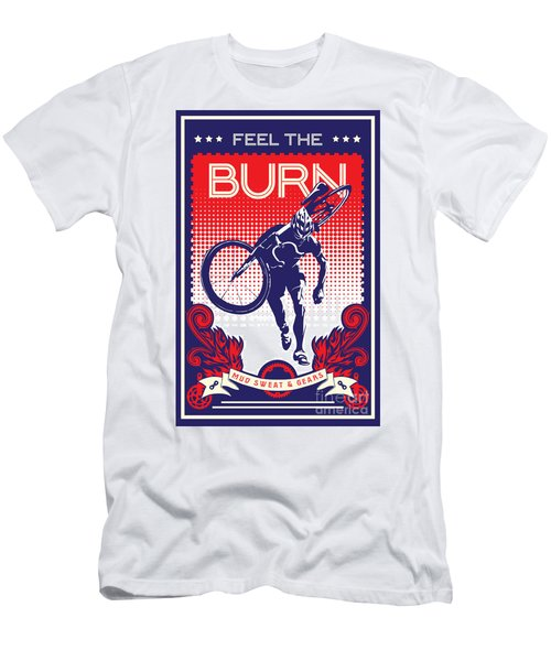 Feel The Burn Men's T-Shirt (Athletic Fit)