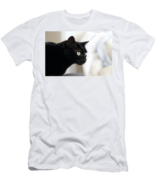 Feline On The Prowl Men's T-Shirt (Athletic Fit)